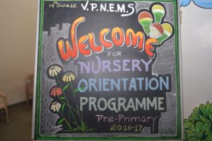 Nursery Orientation Programme at VPNEMS