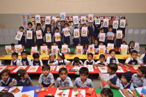 Colouring Competition – LKG, HKG