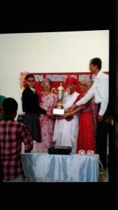 1st Prize -in Interschool Elocution Competition