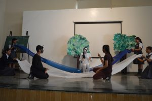 Sanskrit Drama Presented by Std IX C