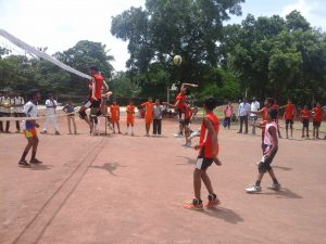 Taluka Level Volleyball Competition Winners