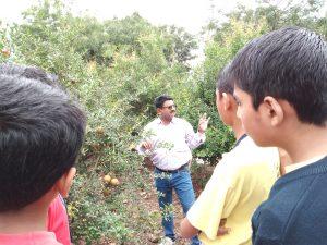 Field Visit – VIII A- Kusum Bagh,Malad