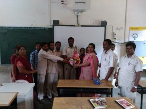 Guru Pournima –  Felicitation by support staff
