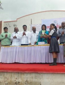 Interschool Elocution Competition – Dipti Marade- First Prize