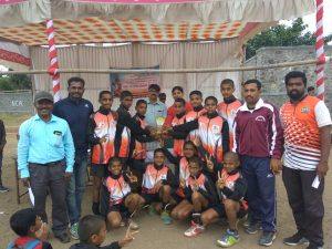 Taluka Level Vollyball(Under 14 Boys) – First Prize