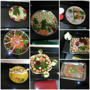 Salad Decoration Competition – Pre-Primary Section