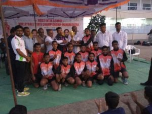 State Level Volleyball Competition (Under 16 Boys)
