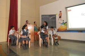 Interhouse Spelling Buzz Competition (Std VI, VII, VIII)