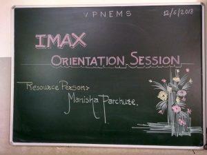 IMAX Orientation Program